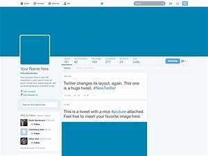 Freebie: Twitter 2014 GUI PSD (New profile template) by ...