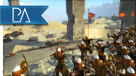 fortress siege siege of forgotten fortress third age total war gameplay