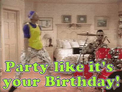 Birthday Funny Dance Happy Gifs Party 90s