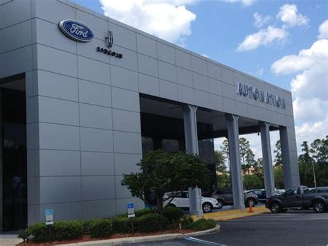 AutoNation Ford Lincoln Orange Park car dealership in
