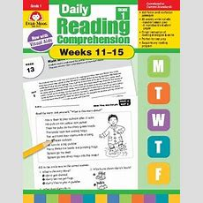 Daily Reading Comprehension, Grade 1, Weeks 1115 Tpt
