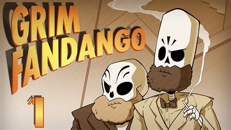 Grim Fandango | Let's Play Ep. 1 | Super Beard Bros. - YouTube