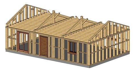 charpente traditionnelle en kit maison ossature bois kiosque bois abri voiture auvent bois