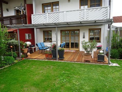 Garten Vorne Gestalten by Terrassendach Unter Vorhandenem Balkon Jakob Haider