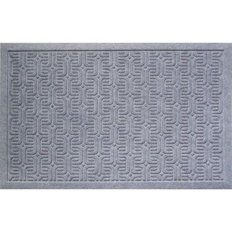 Entryways Doormats by Entryways Geometric Pattern 22 In X 35 In Weather Beater