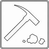 Rock Outline Geology Clipart Geologist Collecting Clip Hammer Rocks Pile Cliparts Clipartmag Library Etc Clipground sketch template