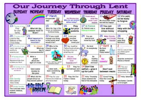 lentern resource printable lent calendar to encourage 345 | c91d1e6054362fcee2ebf6798e31574e