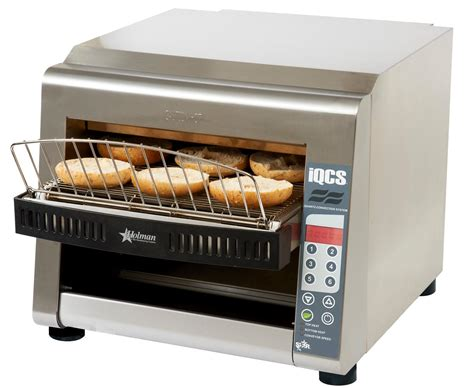 electric conveyor toaster iqcse3 1600b 14 quot wide holman stainless steel electric