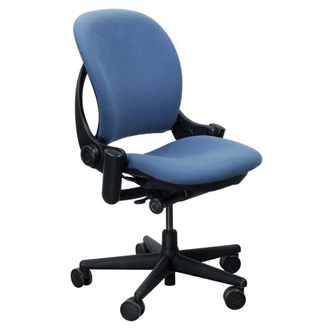chaise steelcase steelcase leap used task chair light blue national