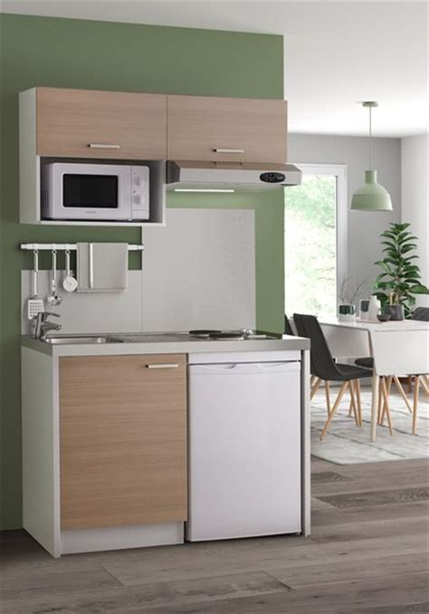 cuisine blanche ikea kitchenette 20 modèles canon côté maison