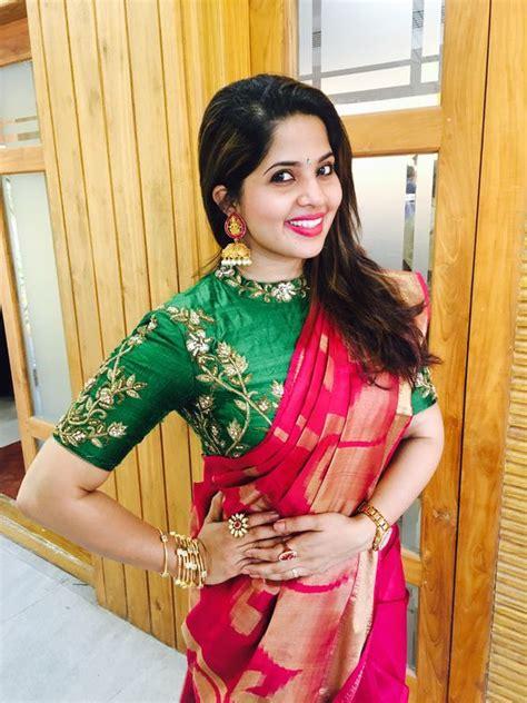 trendy silk saree blouse designs catalogue