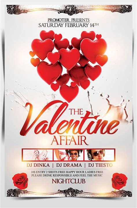 images  valentine flyer template  printable