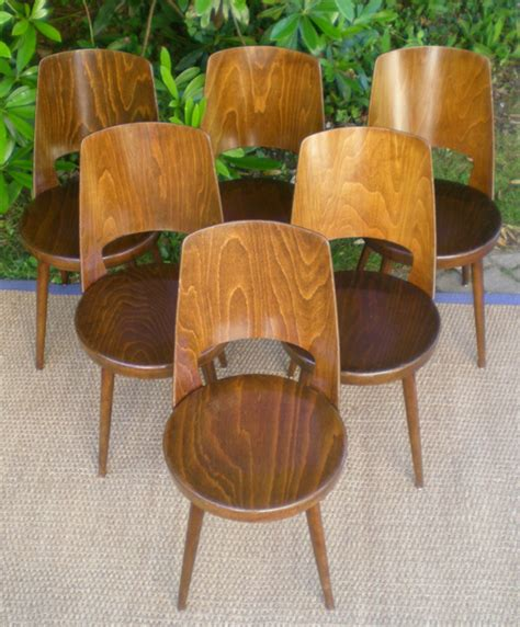 chaise bistrot baumann anciennes chaises de bistrot baumann bois noirci