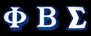 greek 3 d letters With phi beta sigma greek letters