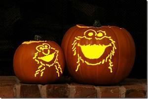 Sesame Street Pumpkin Carvings - Between the Pages