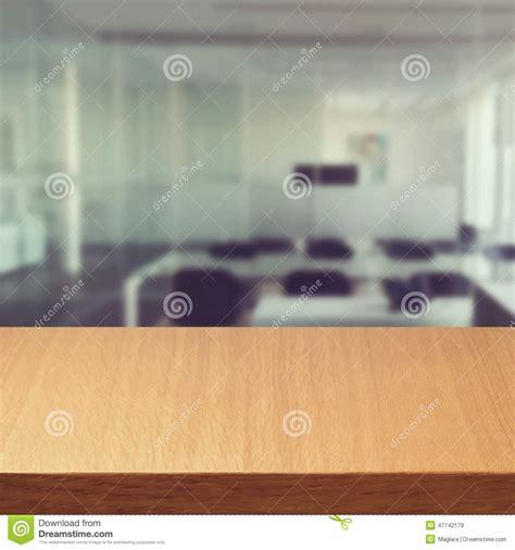 Desk Background Empty Modern Office Desk Stock Photo Image 47742179