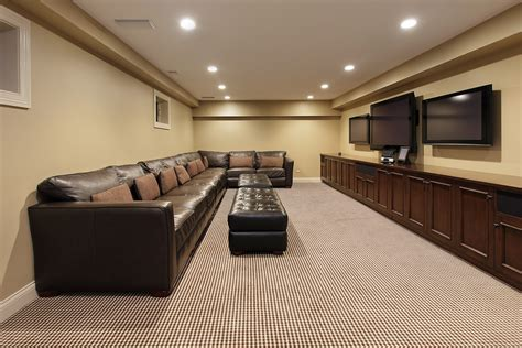Basement Finishing Ideas in Modern Decor   InspirationSeek.com