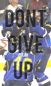 Don't give up Boys.... #LGB | St louis blues hockey, St ...