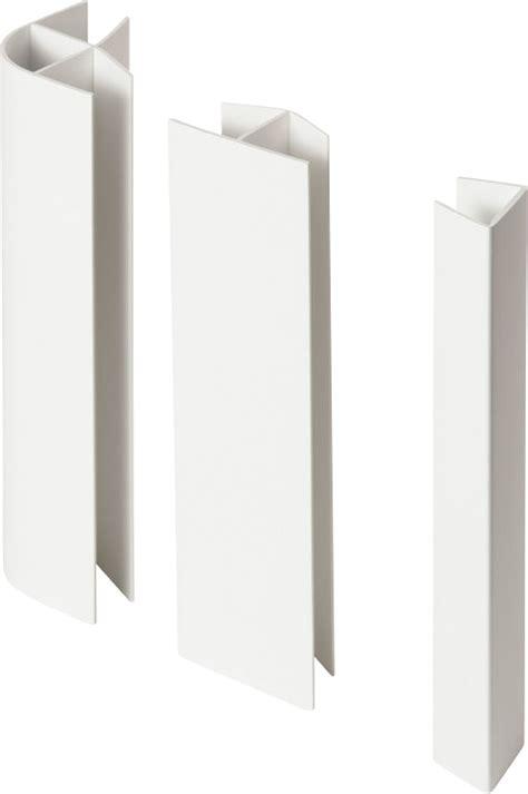 pack raccord plinthe cuisine pvc blanc 16 19x150mm bricoman