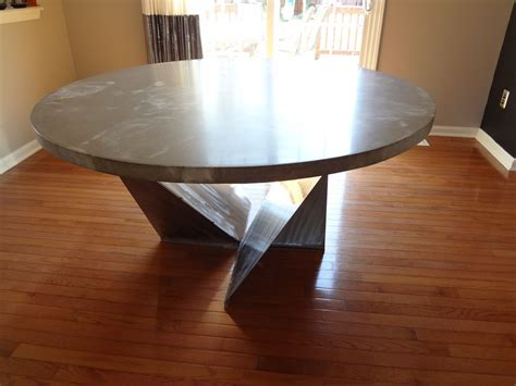 custom dining room table kitchen table  rock   hard