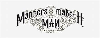 Manners Maketh Kingsman Circle Golden Pngkey