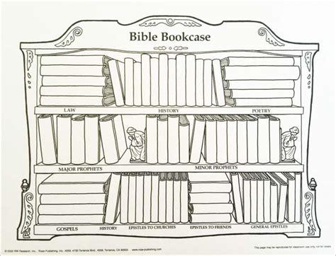 Bible Bookcase Wall Chart