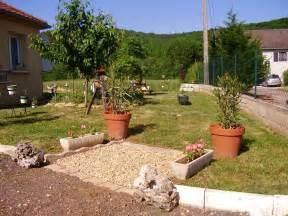 Parterre Jardin Tunisie by Decoration Exterieure Jardin Galet Id 233 Es De D 233 Coration