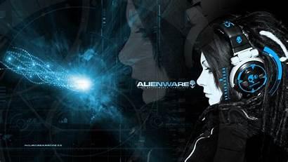 Alienware Backgrounds Wallpapers Headphones Desktop Skullcandy Skull