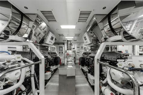Yacht Engine Room by Atlante Engine Room Luxury Yacht Charter Superyacht News