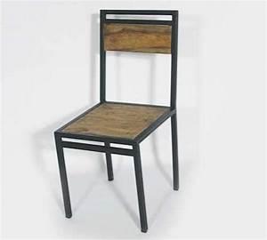 Chaise Style Industriel : des meubles de cuisine industrielle top tendance deco cool ~ Teatrodelosmanantiales.com Idées de Décoration