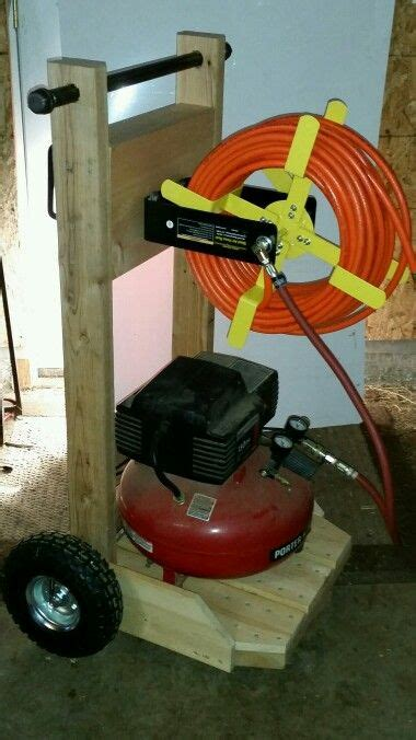 compressor cart  projects pinterest