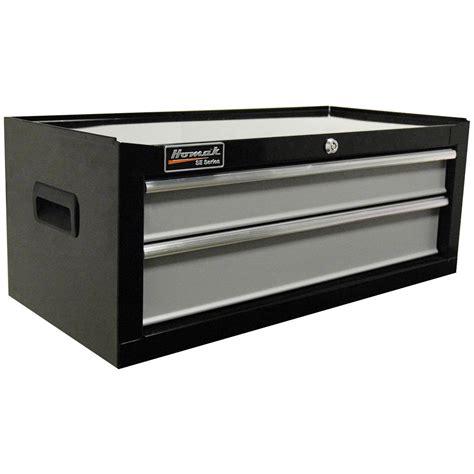 tool box dresser black homak 174 se series 27 quot 2 drawer middle tool chest black