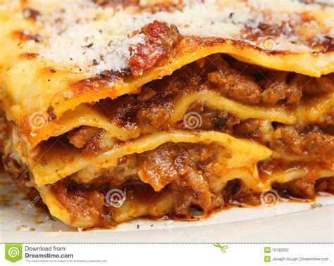cuisine lasagne beef lasagna lasagne food stock photography