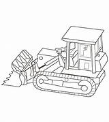 Truck Coloring Pages Trucks Bulldozer Printable Dump Construction Momjunction Ones sketch template
