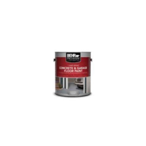 BEHR PREMIUM® 1 Part Epoxy Concrete & Garage Floor Paint
