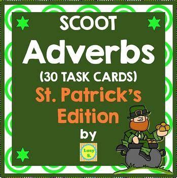 st patricks adverbs scoot identify  adverb