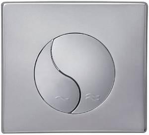 Plaque De Commande Wc Suspendu : plaque set in bis chrom e pour b ti support 80cm ~ Dailycaller-alerts.com Idées de Décoration