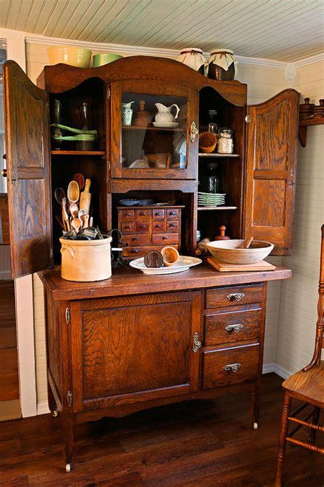 antique hoosier cabinet photograph  carmen del valle