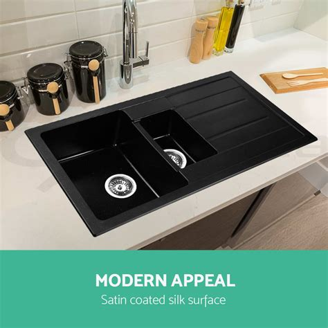 best undermount kitchen sinks premium black kitchen sink granite stone top undermount