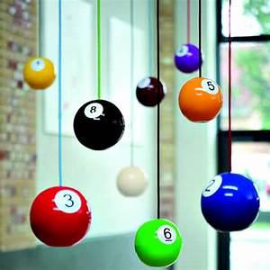 Pulz Billiard Ball Wooden Pendant Lights | Cool Material