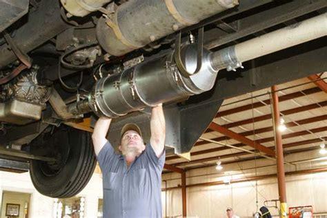 huge catalytic converter   pulled