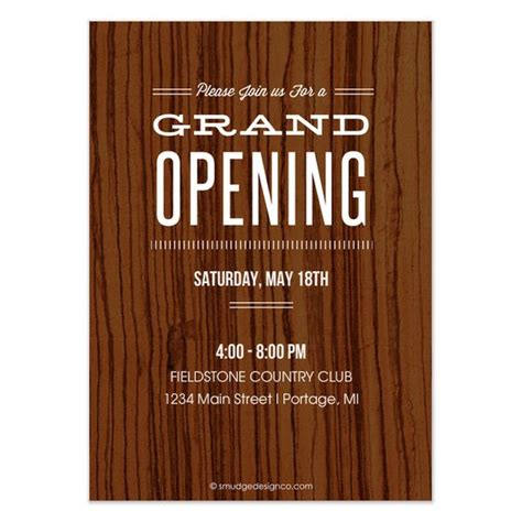 renee pulve grand opening invite  ecard design
