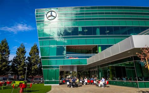 sede mercedes germania grand opening of new mbrdna headquarters and mercedes