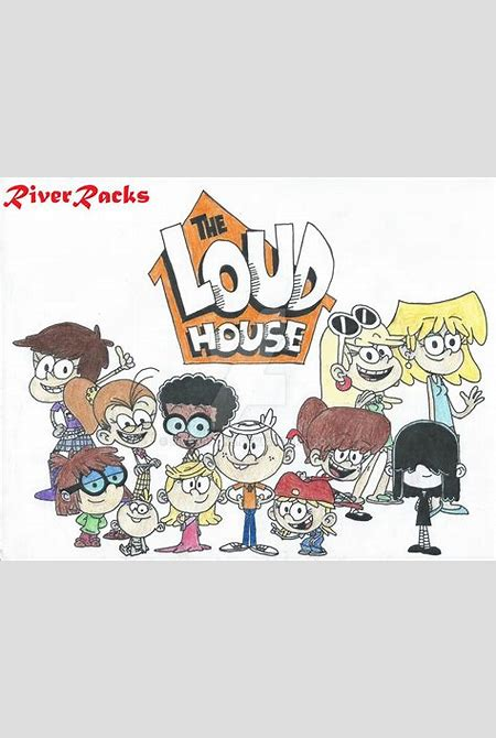 The Loud House Characters by RiverRacks on DeviantArt