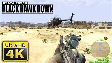 Old Games In 4k  Delta Force Black Hawk Down Youtube