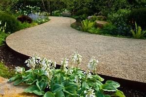 Gartenwege Aus Kies : 5 tipps f r trendige gartenweg gestaltungen mein bau ~ Sanjose-hotels-ca.com Haus und Dekorationen