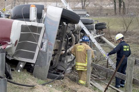 woodsboro man dies  cement truck crash  union bridge