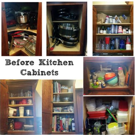 how do i organize my kitchen cabinets my organized kitchen cabinets 52 weeks to a more 9249