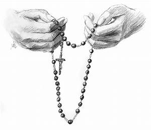 Hands with Rosary » Jef Murray Studios