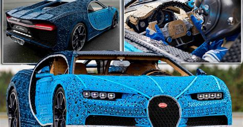 Just a few months ago, bugatti and lego teamed up to create a technic kit of the chiron hypercar. Bugatti unveils the world's first full-sized LEGO sports car that actually drives - Mirror Online